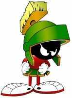 Marvin The Martian Classic Cartoon  Vinyl Sticker Decal 2.5""