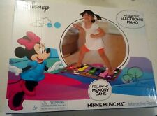 DISNEY MINNIE MOUSE INTERACTIVE ELECTRONIC FLOOR PIANO MUSIC MAT KIDS 3+