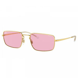 NEW AUTHENTIC RAY BAN RB3669 - Gold/Pink