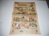 NOV 28 1937 Sunday Comics Newspaper Page - Los Angeles Times TARZAN BUCK ROGERS