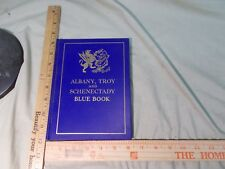 1929-30 Albany  Troy & Schenectady  NY N.Y. New York  Blue Book advertising