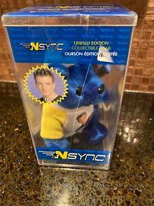 "NSync  Blue Beanie Baby ""JC"" Ltd Ed. Numbered In Box"