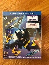 The Lego Batman Movie, Blu-ray+DVD+Digital HD, only Target Mini Figure, new
