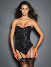 """Frederick's of Hollywood """"Biker Girl"""" Corset XL Extra Large NWT"""