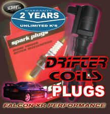BRISK RACING TURBO PERFORMANCE SPARK PLUGS with  BA PERFORMANCE IGNITION COILS