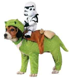 Dewback Stormtrooper Rider Star Wars Fancy Dress Halloween Pet Dog Costume