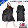 Pro Black Salon Hair Cut Hairdressing Hairdresser Barbers Cape Gown Adult Cloth@