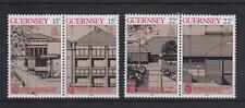GUERNSEY 1987 EUROPA MODERN ARCHITECTURE STAMP SET MNH SG 394-397