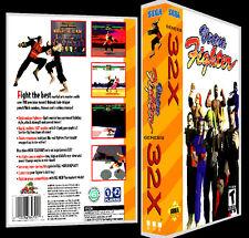 Virtua Fighter - 32X Reproduction Art Case/Box No Game.