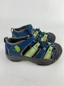Keen Newport H2 Waterproof Child Size 12  Hawaii Blue/Green Sandal 1014246