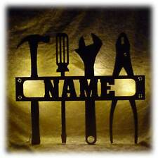 Led Tool Lampe Handwerker Werkzeug lustige witzige Männergeschenke mit Name