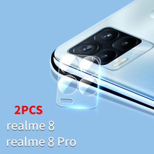 2PCS OPPO Realme 8 8 Pro Full Cover Camera Lens Tempered Glass Screen Protector