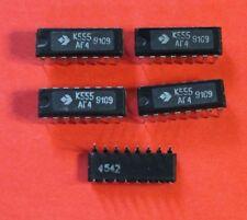 K555AG4 = SN74LS221 IC / Microchip USSR  Lot of 10 pcs