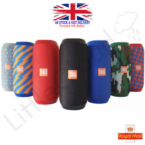 💥Brand New 2021💥TG117 Portable Bluetooth Speaker Wireless Waterproof Loud Bass