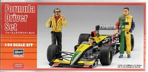 Édition Limitée Hasegawa Formule Conducteur Set, Figurines (6) en 1/24 20341