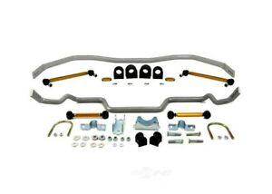 Whiteline For 05-14 Ford Mustang (Incl. GT) Front & Rear Sway Bar Kit