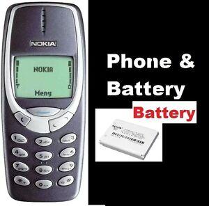 Original Nokia 3310 Phone GSM,  2G, FULLY REFURBISHED Works worldwide