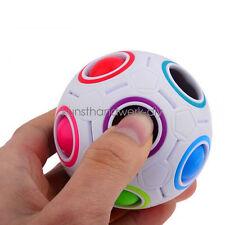 KUS Magic Cube Würfel Ball Toy Spielzeug Lernspielzeug Regenbogen Fußball