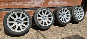 "Genuine BMW Style 95 19"" Alloy Wheels 3 5 7 Series 5x120 Borbet"