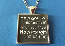 BDSM JEWELRY * His Gentle Touch  * Necklace Collar Owned
