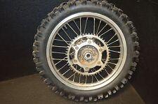 #722 1999 Honda cr 500  rear rim & tire 110-100-18