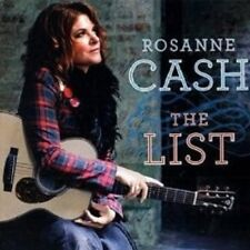 """ROSANNE CASH """"THE LIST"""" CD COUNTRY NEW!"""