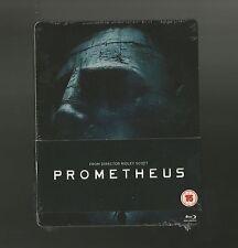 PROMETHEUS - UK EXCLUSIVE BLU RAY STEELBOOK - NEW+SEALED