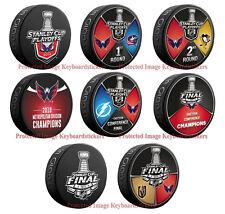 Washington Capitals 8 Hockey Puck PKG Round 1, 2 & Eastern Conference Champions