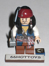 LEGO Pirates of the Caribbean 4183 Jack Sparrow Mini Figure NEW