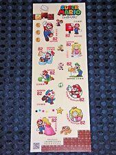 Japan Post Nintendo Super Mario Greeting Stamp Limited Set 82 JPY x10 2017 F/S