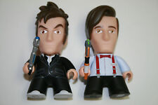2 Doctor Who Titans Vinyl Figures 10th 11th Dr. FanExpo David Tennant Matt Smith