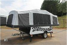 Custom Pop up Camper Graphic Stripe Kit Vinyl Decal Stickers RV Trailer Boat