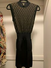 Louis Vuitton Cashmere/Lurex bodycon Knit dress Size XS