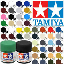 Tamiya Acrylic Paints 10ml X + XF Full Range Model Paint Jars - Revell, Airfix