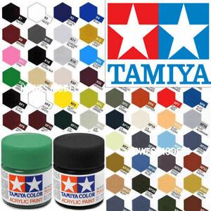 Tamiya Acrylic Paints 10ml X + XF Full Range Model Paint Jars - Revell, Airfix