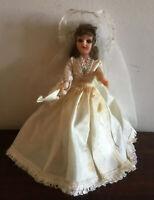 Gorgeous Vintage Blue Bonnet Bride Margarine Doll 1950s