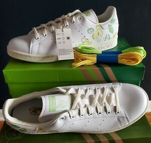 NEW  ADIDAS X DISNEY PETER PAN AND TINKER BELL STAN SMITH MEN'S SHOES US 9.5