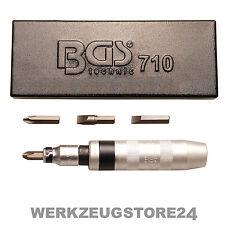 BGS 5-tlg. Hand-Schlagschrauber-Satz - 710 in Metallkasette Schraubendreher