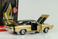 1970 DODGE CHARGER R/T se 50th Anniversary METALLIZZATO ORO 1:18 AUTO World ERTL