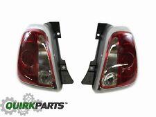 2012-2017 FIAT 500 CONVERTIBLE RIGHT & LEFT SIDE REAR TAILLIGHT LAMP OEM MOPAR