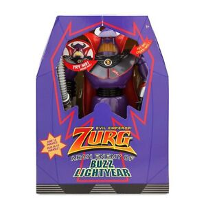 """DISNEY Toy Story 12"""" Zurg Talking and Light Up Action Figure **NEW**"""