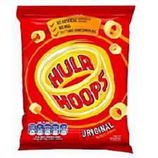 Hula Hoops Original Flavour Potato Rings 34g Case of 48