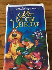 The Great Mouse Detective (VHS, 1992) black diamond classics sealed