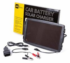 AA Official Car Essentials Solar Powered Car Battery Charger Maintainer Caravan