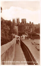 R325009 York Minster and Lendal Bridge from City Walls. Excel Series. RP