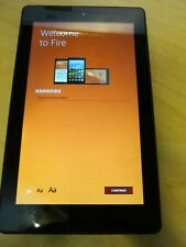 "CRACKED Amazon Kindle Fire 7"" (7th gen) 16gb inc VAT  056K"