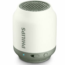 Philips BT50W wireless portable speaker Bluetooth Rechargeable 2W BT50 White