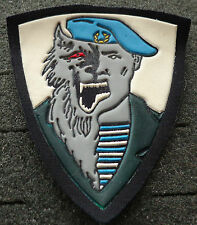 Russian army   blue  beret Spetsnaz Unit Werewolf patch  #194bl