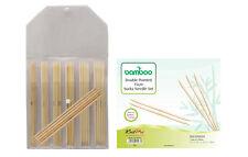 KnitPro Juego de Agujas Set BAMBOO 15cm Aguja de tejer de calcetines Bambú 22544
