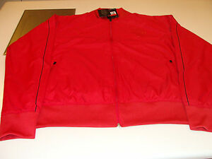 UEFA 2012 Euro Cup Lightweight Jacket XL Team Portugal Full Zip Red Soccer